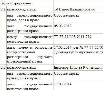 сделка Петра Бирюкова